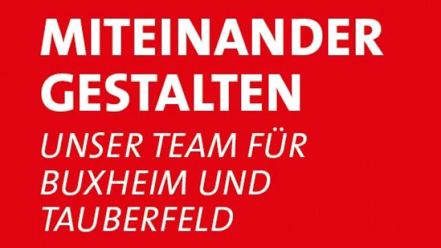 Titel Kommunalwahl SPD Buxheim-Tauberfeld
